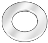 Flat Washer,Phenolic,Fits #10,Pk 5 -- 5RE81 - Image