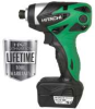HITACHI 10.8 V Lithium Ion Micro Impact Driver -- Model# WH10DL