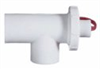 Liquid flow switch for threaded plastic piping; 2.5 GPM -- EW-32774-68