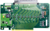 Evaluation Board for 89HP0504PB (QFN) Repeater, 16-lane, 5Gbps PCIe2 -- 89KTP0504PB-QFN