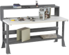 TENNSCO Deluxe Plastic Laminate Top Workbenches -- 1440800