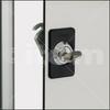 Locking System 8, Cylinder Lock with grip -- 0.0.619.65