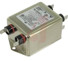 RFI Power Line Compact Dual Stage Filter; 10AMP; .250 Terminals; RoHS Compliant -- 70185575