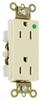 Duplex/Single Receptacle -- 26262-HGI -- View Larger Image