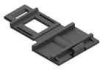 Wire Clip - Plastic, Adhesive Mount, Micro -- MCC-1-01A-BK -- View Larger Image