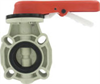 Dwyer Series PBFV Thermoplastic Butterfly Valve