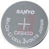 Battery, Coin/Button; Lithium; 3 V; 270mAh; 24 mm Dia. x 3.0 mm H -- 70157369 - Image
