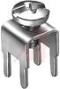 PC SCREW TERMINALS, METRIC, 15 AMP, VERTICAL, SNAP-IN, 6-32 THREAD- NO SCREW SUP -- 70182416