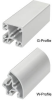 Aluminum Functional Profiles System -- Frameworks® W-Profile