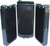 Swiftech MCR220-QP 2x120 Radiator w/ Built-in Reservoir -- 70039