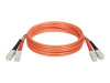 Tripp Lite - Fiber optic cable - SC multi-mode (M) - SC multi-mode (M) - 10 ft - fiber optic -- N306-010