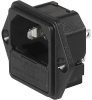 IEC Appliance Inlet C14 with Fuseholder 1-pole, unwired