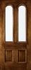 Custom Wood Glass Panel Exterior Door Series