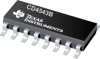 CD4543B CMOS BCD-to-Seven-Segment Latch/Decoder/Driver for Liquid-Crystal Displays -- CD4543BPW -Image