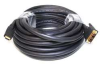 HDMI-DVI Cables,Black,35 ft.,22AWG -- 5RFH0