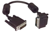 DVI-D Dual Link DVI Cable Male / Male Right Angle,Top 3.0m -- MDA00031-3M -Image