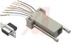 adaptor kit, db9f/rj45 jack -- 70127141