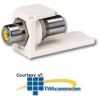 Panduit® Mini-Com RCA Pass-Through Module - Yellow.. -- CMRPY