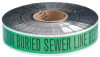 Detectable Identoline Warning Tape - Sewer -- 91604