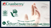 Cranberry Silkcare Powder-Free Latex Exam Gloves