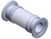 Vacuum Insulator, NW Flange