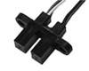 HOA698X/HOA699X Series IR Opaque Optoschmitt Sensor, Transistor Output, Two Mounting Tabs, Plastic Package -- HOA6995-T55