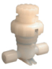 1/2 IN. MANUAL DIAPHRAGM VALVES, 2 WAY MULTI-TURN -- MV-11-201 - Image