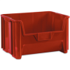 "19 7/8"" x 15 1/4"" x 12 7/16"" Red - Giant Stackable Bins -- BING111 -- View Larger Image"