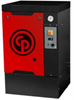 Quiet Rotary Screw (QRS) Series Base Mount Belt Drive Rotary Screw Air Compressor -- QRS-15HP