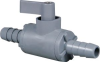 Plastic Two Way Ball Valve -- 226 Series -- View Larger Image