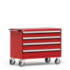 """R Mobile Cabinet, with Partitions, 4 Drawers (48""""W x 27""""D x 37 1/2""""H) -- R5BHG-3019 -- View Larger Image"""