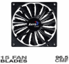 AeroCool Shark Fan - 140mm Black Edition -- 20122 -- View Larger Image