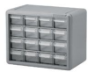 CABINET, STACKABLE, 16 DRAWER, STEEL -- 30H0871 - Image