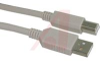 PREMIUM USB TYPE A - B CABLE, 1.0M -- 70126296 - Image