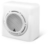 Enclosed Subwoofer System with M10W5-CG-WH Subwoofer Driver, Gloss White (250 W, 4 Ω) -- FS110-W5-CG-WH