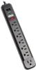 7 Outlet Black Strip, 6ft. Cord, 1080 Joules Protect It! Surge Suppressor -- TLP76RBTEL