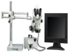 LUXO 23719RB-LCDTRT ( ILLUMINATED TRU TRINOCULAR MICROSCOPE SYSTEM; FEATURES:SIMULTANEOUSLY VIEWING OF IMAGES ON SCREEN & THRU EYEPIECES; 10X SUPER WIDEFIELD EYEPIECE; ZOOM ) -- View Larger Image