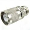 N Female (Jack) to SC Male (Plug) Adapter, High Temp, 1.25 VSWR -- SM4655 - Image