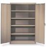 Storage Cabinet, Assembled, Beige -- 1YMD7