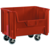 19 7/8in x15 1/4in x12 7/16in Red Mobile Giant Stackable Bin -- BING121