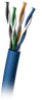 CTG 1000ft CAT6a 600Mhz Solid Plenum Cable - Blue -- 32603