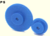 55mm PD Plastic Spur Gears -- PS1-55-Image