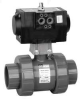 Pneu Actuated Ball Valve,1 In,EPDM -- 26X050 - Image