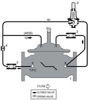 Stainless Steel Pressure Reducing Control Valve with Hydraulic Check Feature -- 910GS-01 - Image