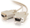 100ft DB9 M/F Extension Cable - Beige -- 2302-17612-100 - Image