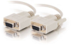 10ft DB9 F/F Cable - Beige -- 2302-02695-010 - Image