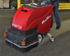 Industrial Floor Scrubber, Factory Cat -- MINIMAG