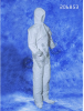Epic White 3XL Polyethylene/Polypropylene Cleanroom Coveralls - ISO Class 6 Rating - 206853-3XL -- 206853-3XL -Image