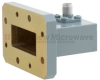 WR-112 to SMA Female Waveguide to Coax Adapter CMR-112 with 7.05 GHz to 10 GHz H Band in Aluminum, Paint -- FMWCA1042 - Image