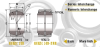 Heavy Duty Sealed & Unsealed Spherical Plain Inch Bearing -- View Larger Image